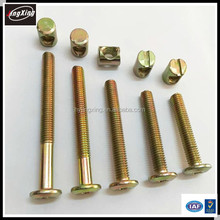 Furniture metal Cross Dowel Nut/barrel nut