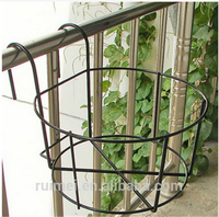 Casy Assembled Metal Hanging Flower Pot Stand