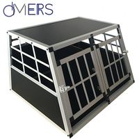colored dog welded pet transport cage crates
