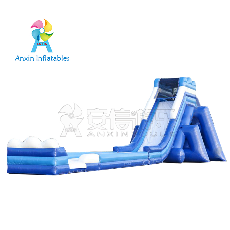 Outdoor adult jumbo vertical rush inflatable water slide