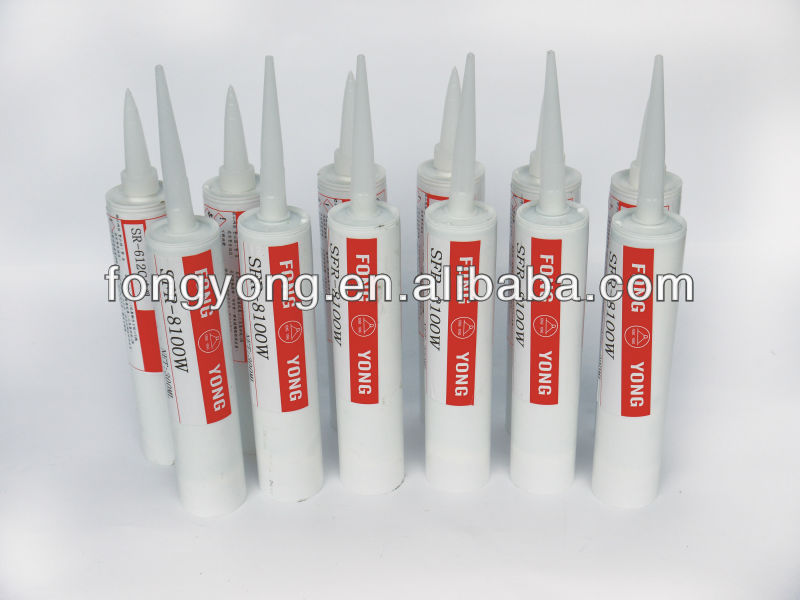 Alkoxy neutral one part translucent middle viscosity rtv silicone sealant glue SK-781C for electronics