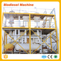 used cooking oil processing machine to make High quality biodiesel fuel biodiesel processing plant
