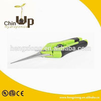 best garden shears scissors/ gardening tools long handle pruning shears/ green handle garden scissors