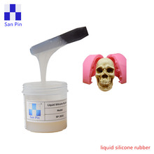 Cheap Prices Tin cure liquid silicone rubber to make silicone resin skull moulds