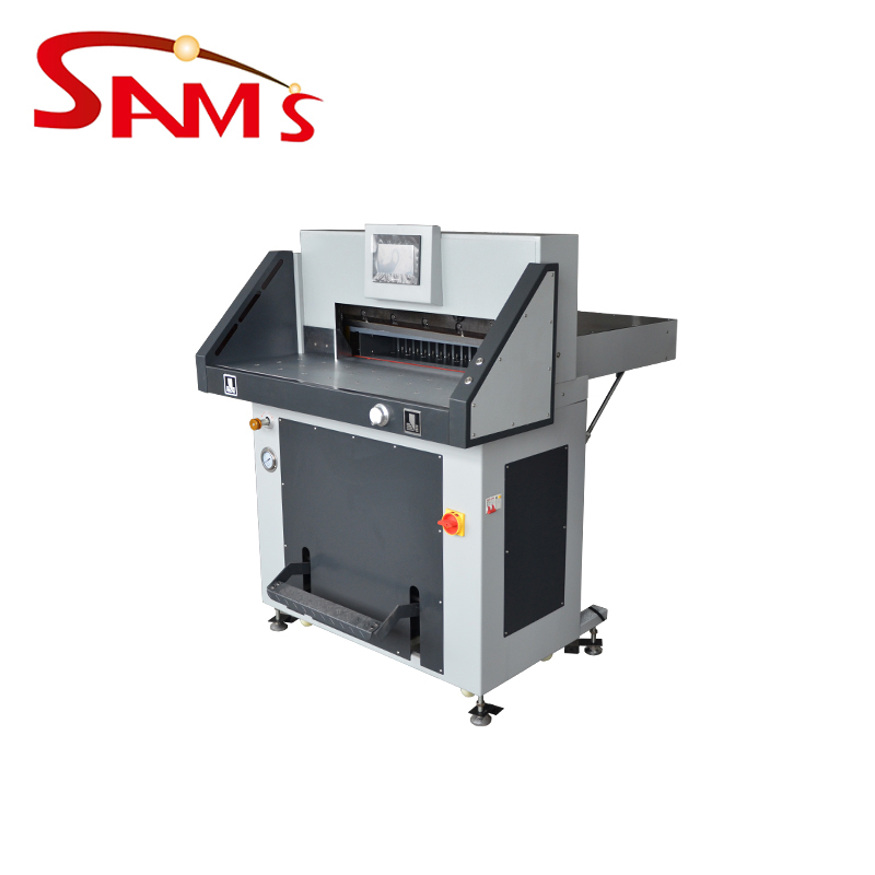 Factory price hydraulic hand operated paper cutting machine