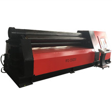 <strong>W11</strong> 12*2000 CNC Four Roller Steel Sheet <strong>Plate</strong> <strong>Bending</strong> Rolling <strong>Machine</strong>