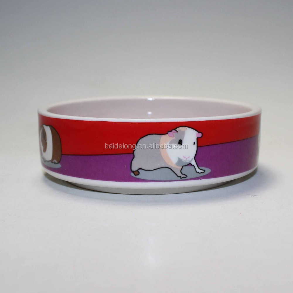 Reserved For The Dog Ceramic Pet Water Bowl Ceramic Food Bowl