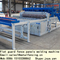 Welded mesh fence machine with 2.5mm~5mm wire welding wire mesh machine for 2.5m width fence panels