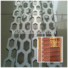 perforated aluminum single panel/ aluminum veneer/aluminum sheet