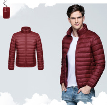 2017 women fashion design foldable duck feather ultralight down jacket