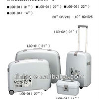 Decent Colorful High Quality Pp Luggage