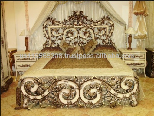 hand carved wood bedroom set,classic bedroom set,carved bedroom furniture,antique furniture,wood carving bedroom furniture