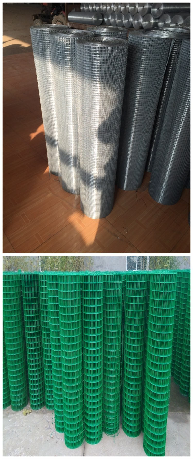 pvc reinforcement welded wire mesh panel fencing