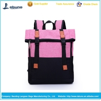 Personality fashion leisure backpack for school women bag