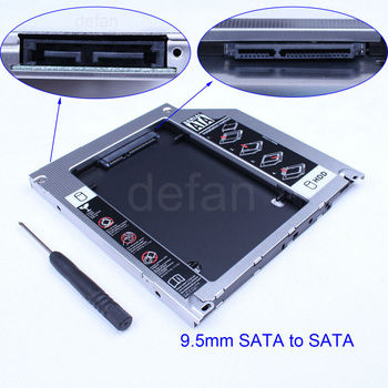 2nd hdd caddy universal 9.5mm hdd caddy 2.5 SATA to SATA HDD caddy