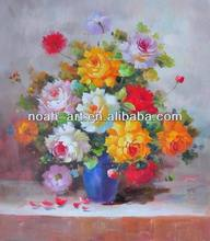 Actual Image show High Quality Impression Flower Wall Painting