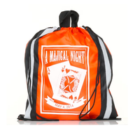 Promotional strong 210D polyester drawstring backpack bag