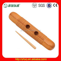 Orff guiro toy,wooden music related gift for kids TW27