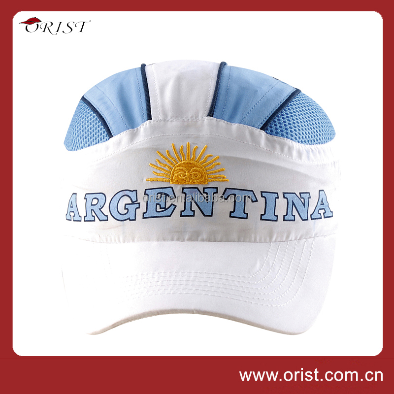 Hot selling Custom-made your own logo Dry fit Microfiber hat Running cap