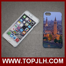 new sublimation phone case 3D white phone cover for iphone case