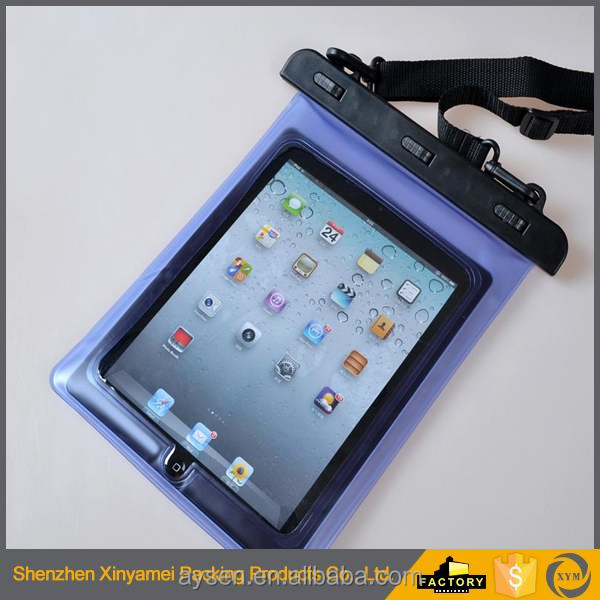 Pouch Sleeve Case Protector Skin Bag 3 meter swimming diving PVC material waterproof pouch bag for ipad mi