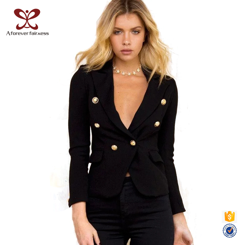 Black Ladies Office Suit Styles Business suit Corporate Uniform Women Work New Design Ladies Suit