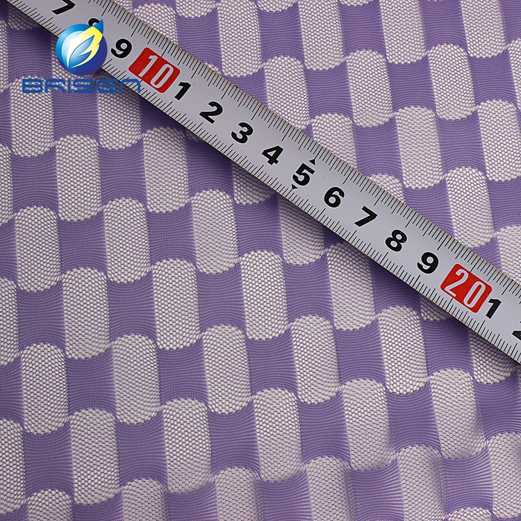 Fashion Dobby Purple 100% Polyester Fabrics