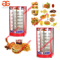 Floor hot food display warmer