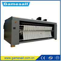 (Bedsheet, Quilt Cover, Textile, Table Cloth ironing machine) Electric, Gas, LPG, Steam 1600mm Laundry used ironing machine