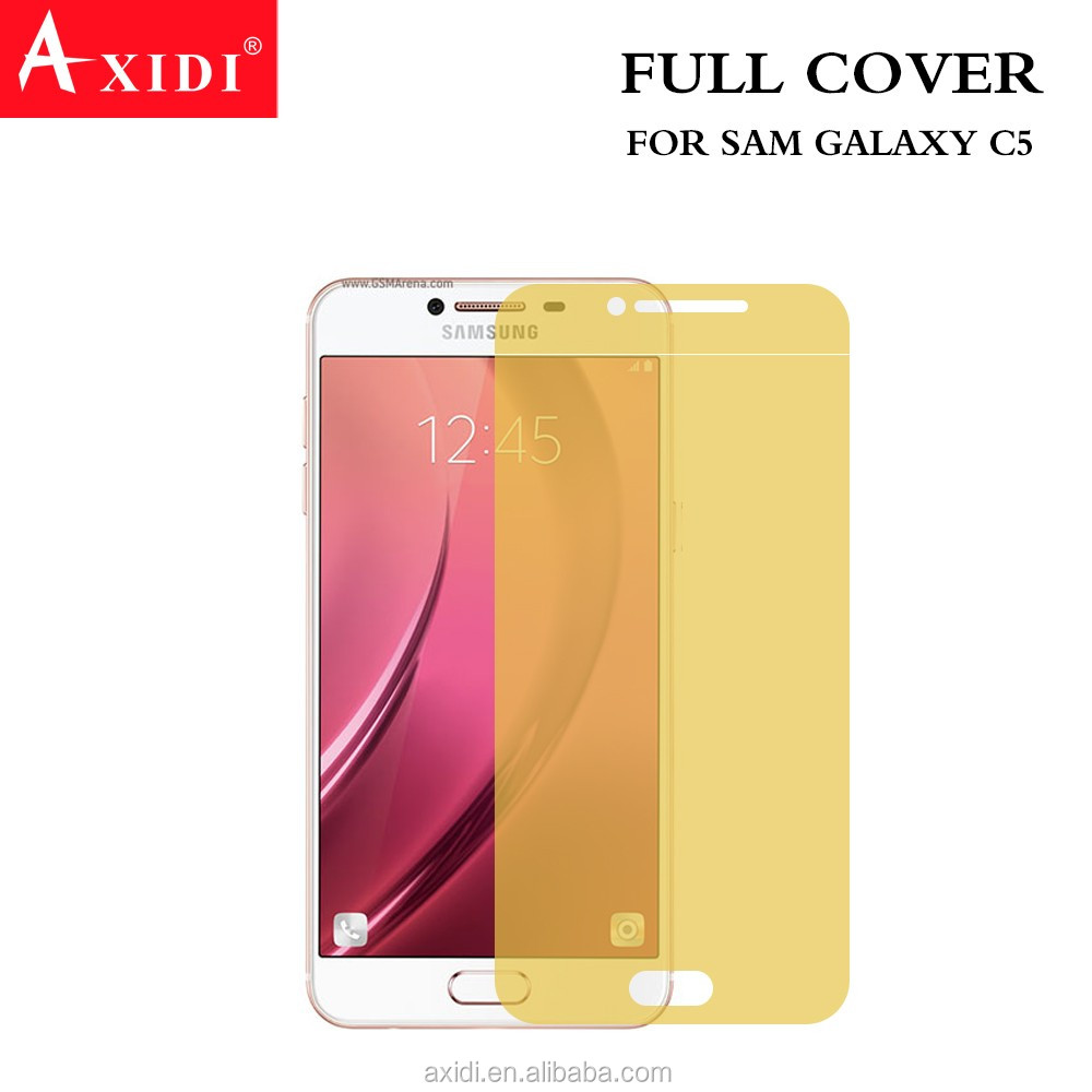 Suitable for All Curved Phones 3D Full Cover TPU Screen Film for Samsung C5/For Samsung C5 2016 3D Full Cover TPU Screen Film