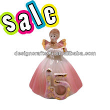 decorative ceramic fairy figurine
