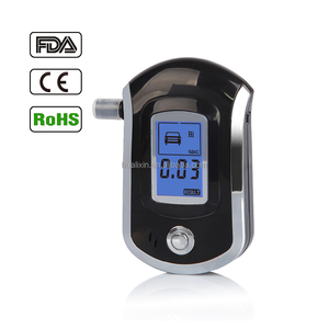 2017 Wholesale Breath Alcohol Tester/Breathalyzer with Compact Design, Semiconductor Sensor and LCD Digital Display