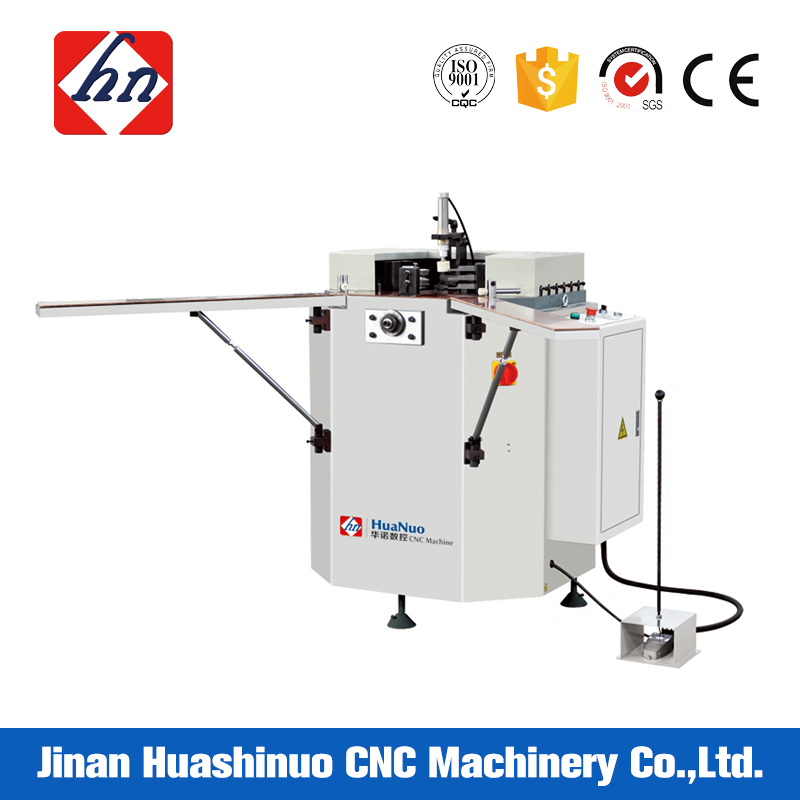Single head aluminum windows corner crimping machine for sale
