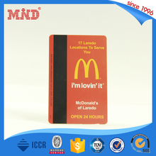 MDH321 Programmable 13.56MHZ NFC RFID Hotel Key Card/hotel magnetic key card