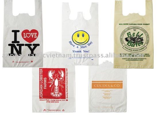 T-shirt bags from Anphat in Vietnam