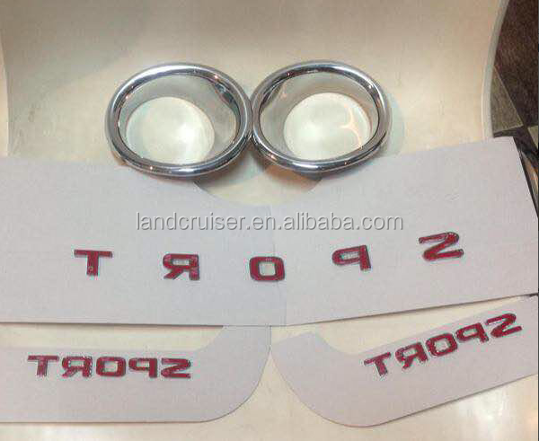 SPORT letters for lexus fashion car,made of ABS chrome