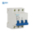 China supplier manufacture 3P Poles MCB overload and short-circuit protection Min Circuit Breaker