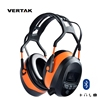VERTAK Bluetooth FM Radio Safety Ear muffs noise cancelling electronic hearing protection headphone for working