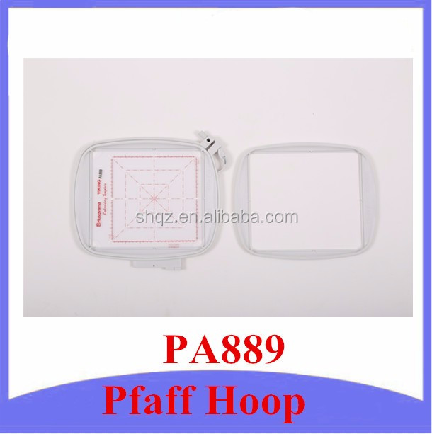 Pfaff 820 889 096 Creative All Fabric Hoop II, Plastic Embroidery Hoops, Pfaff Home-Use Embroidery Hoop