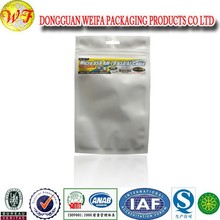 2015 hot sale aluminum clear ziplock packaging plastic bags made in guangdong