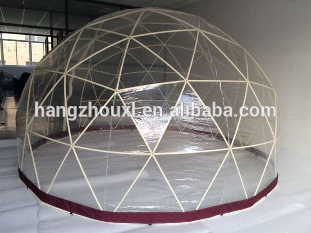 fine agricultural greenhouse/inflatable bubble dome tent at low price