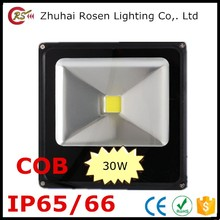 motion sensor led recessed 220V cob waterproof IP65 IP66 floodlight 30w aluminum alloy led flood light
