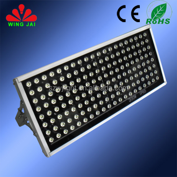 High power different beam angle super brightness outdoor floodlight 300w 20000 lumen led