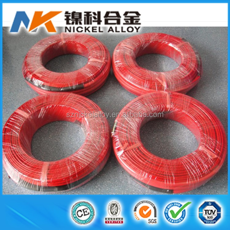 Good electrical insulating ability Teflon heating wire for heating
