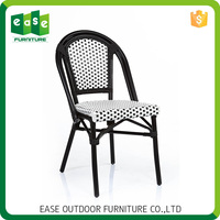 Hot selling Economic Non-wood Aluminum garden retro dining chair