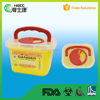 Disposable Surgical Sharps Container For Sale/sharp container/sharp box