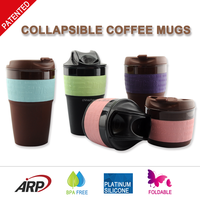 Wholesale 2016 Hot Selling Starbucks 12oz Foldable Coffee Mug
