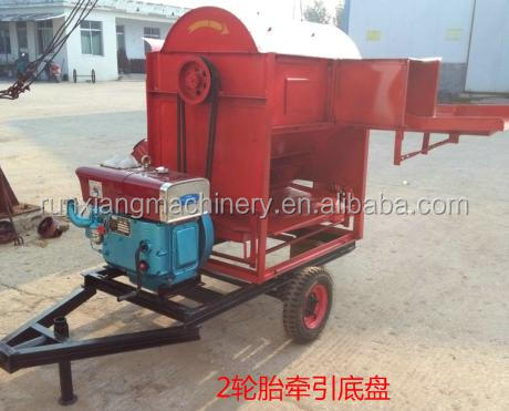 Millet Grain Buckwheat Bean Shelling Thresher Machine