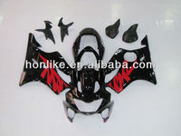 Fairing F4 99 00 for Honda CBR600 F4 1999 2000 CBR600RR F4 99-00 CBR 600RR F4 1999-2000 ABS Black