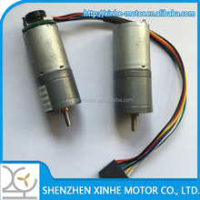 XH-GM370 25mm 12v dc electric gear motor for robot